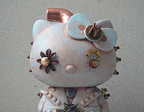 Aero-Steam Custom Hello Kitty Figures