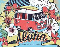 Aloha T-shirt Design