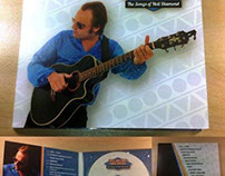 Digi Pack CD Design for The Songs of Neil Diamond