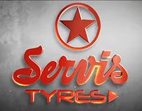Servis Tyres Logo Identity