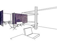Moderna: Casa de tres patios Mies Van der Rohe 2013-2