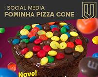 Social Media - Fominha Pizza Cone