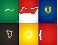 Posters Minimalistas - Beer Brands