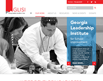 GLISI Website Redesign