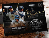 Platinum Black Trading Cards: Onyx Authenticated