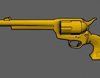 Cel Shaded Revolver