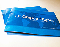 Choice Flights - Travel Guide Handbook (Mock-up)