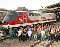The Making of Engine 42 #AmtrakVets