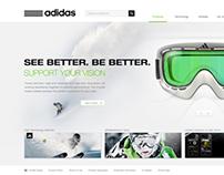 adidas Snow Eyewear 2013