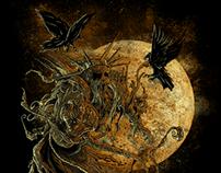 Evil Scarecrow Banner Design