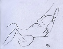 Life drawing croquis