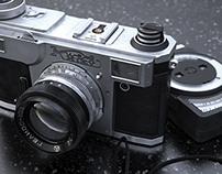 3D Kiev camera