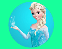Disney's Frozen - Illustration of Elsa by pakortiz