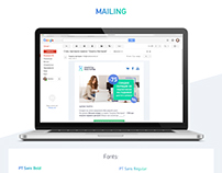 Mailing for users