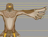 Bird Characters Concept Design