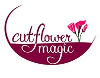 Logo Design: Cut Flower Magic