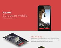 Canon App Concept