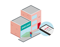 iBeacon Illustration