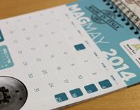 Table Calendars Layout for Alumat & Almax Mori