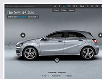 Mercedes-Benz UK Configurator Concept