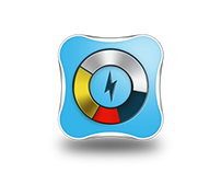 Battery monitor - android app icon