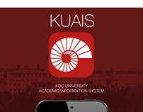 Koç University KUAIS App Design