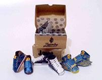 JoeL merch's Papertoy - Sneaker Madness