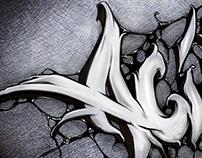 Fonts Graffiti - AcidOne