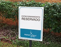 Parking signage Ballet Academy