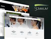 Summum - Website concept