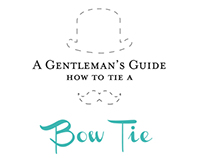 A Gentleman's Guide - How To Tie a Bow Tie