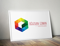 "Oğuzhan EDMAN"" Personal Logo Design"