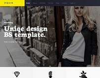 QUIN - Free bootstrap template
