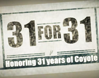 31 for 31 video series