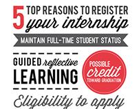 iRegistered My Internship Campaign