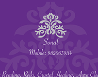 Tarot card reader logo & business card