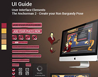 ANCHORMAN – UI GUIDE for a Pitch