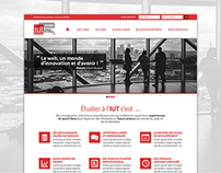 IUT Paul Sabatier / Dpt. MMI - Redesign Concept