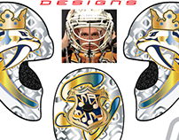 Pekka Rinne Mask Design