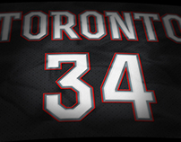 Toronto Raptors Rebrand