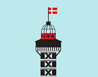 Copenhagen Zoo Poster