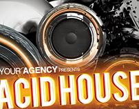 Acid House Party Flyer