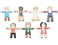Academic Plush Dolls (Series 1)