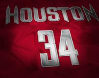 Houston Rockets Jersey Concept