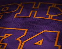 Phoenix Suns Jersey Concept