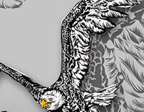 "Eagle ""Enjoy MFG Hardcore Motocross"""