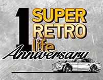"1st anniversary & merry x'mas ""super.retro.life"""