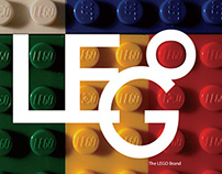 Booklet Design for Lego