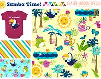 Samba Time! Children's Pattern
