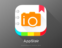 Photo Album Flat icon